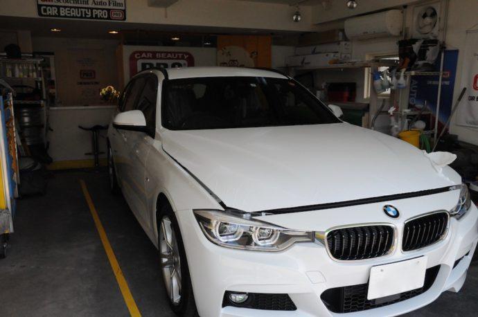 BMW 320d ツーリング 新車SPGコート超撥水+フィルム施工+他