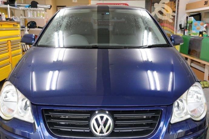 VW POLO プロガラスコーティング