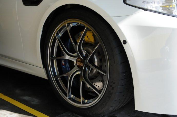 BMW M5 BBSホイール&ルーフコーティング