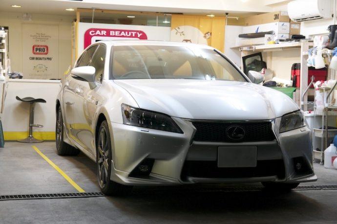 レクサスGS 新車ガラスコーティング