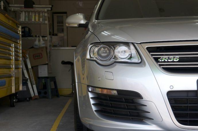 VWパサート ヴァリアントR36 PCX-S8施工