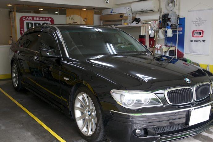 BMW 750iL(E66) PCX-500親水施工