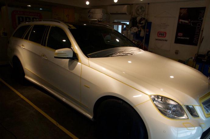 Mercedes Benz E250T リフレッシュ計画(欲張りプラン)