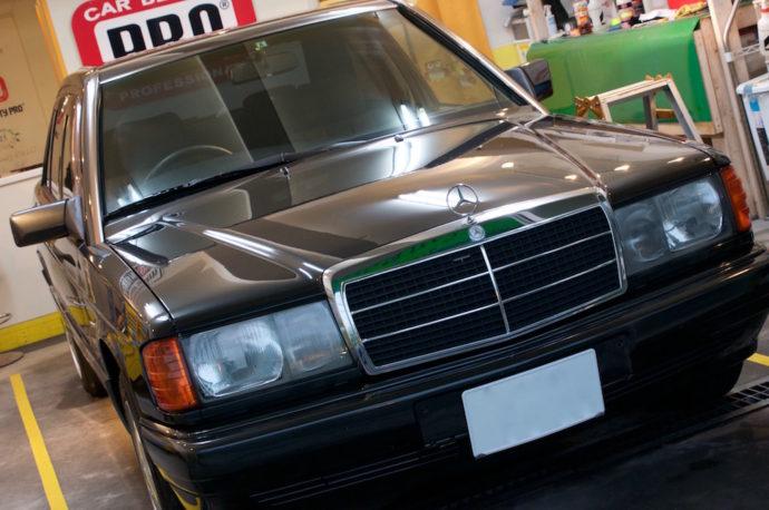 メルセデスベンツ 190D(W201) リフレッシュ計画