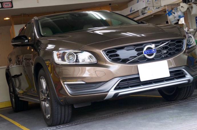 ボルボ V60CC 新車ガラスコーティング
