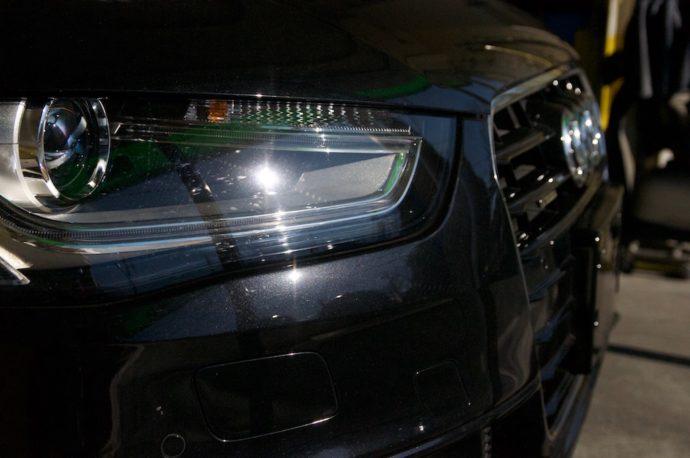 Audi A4 avant プロガラスコーティング 欲張りプラン その1