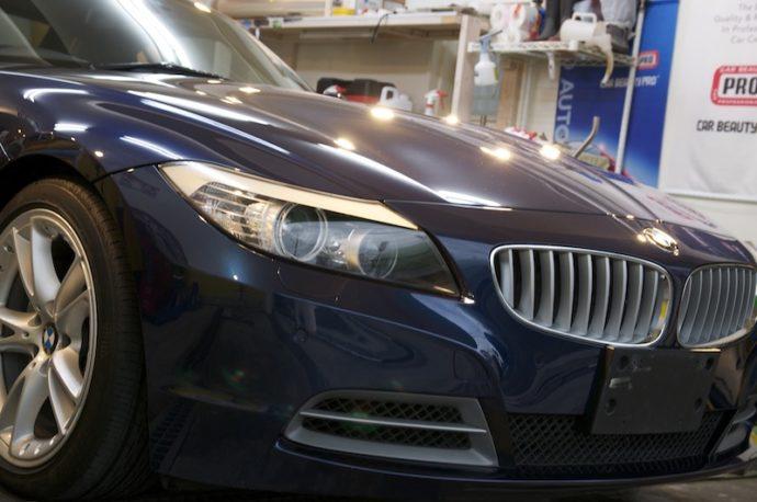 BMW Z4 ガラスコーティングPCX-S8施工