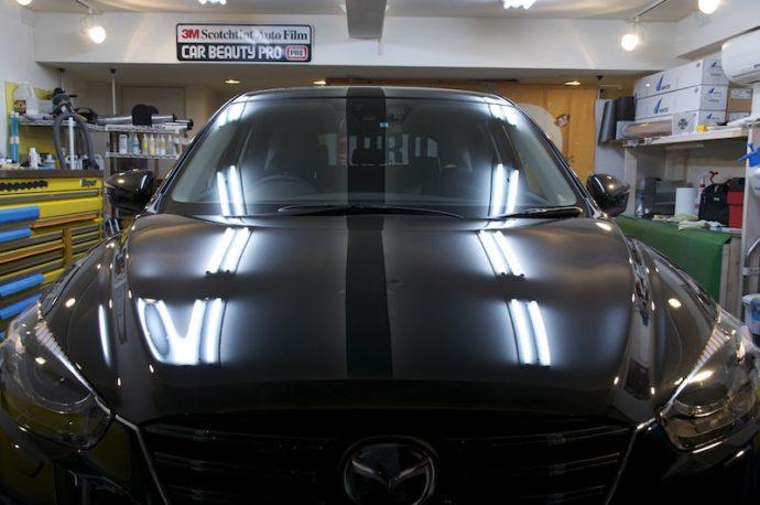 マツダCX-5 新車ガラスコーティングPCX-S7