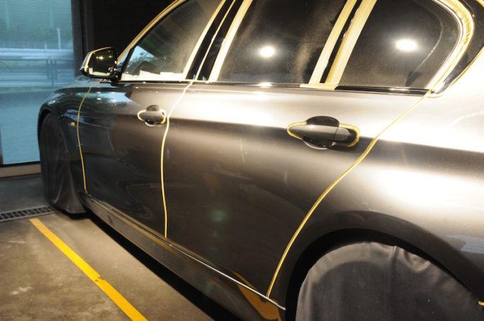 BMW 320d SPGコート&フィルム施工