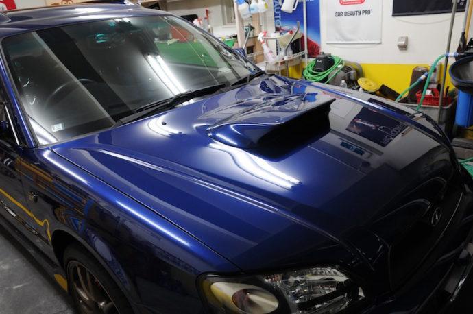 スバル レガシィ ガラスコーティングPCX-S7