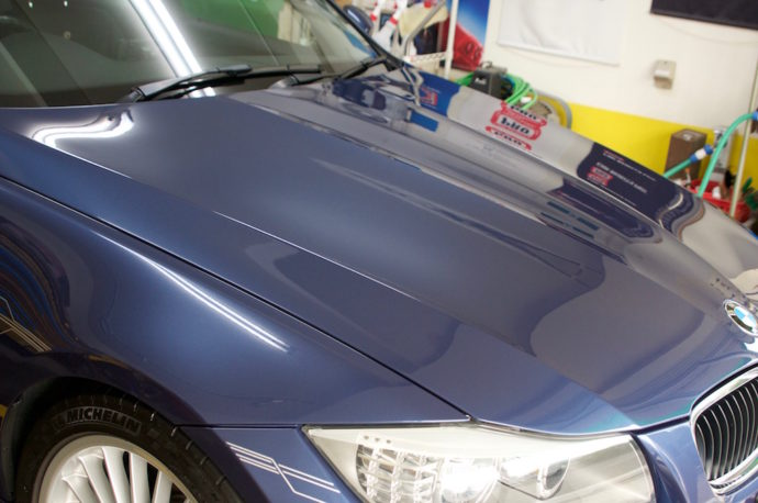 ALPINA D3 メンテナンス洗車