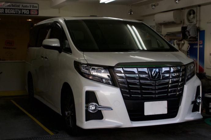 トヨタ アルファード 新車 PCX-S7施工