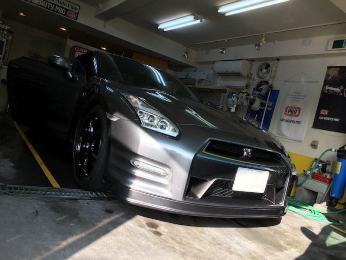 NISSAN GT-R(R35) 1年ぶりのメンテナンス洗車