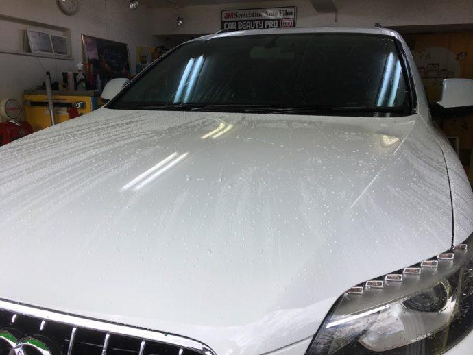 AUDI Q7 メンテナンス洗車