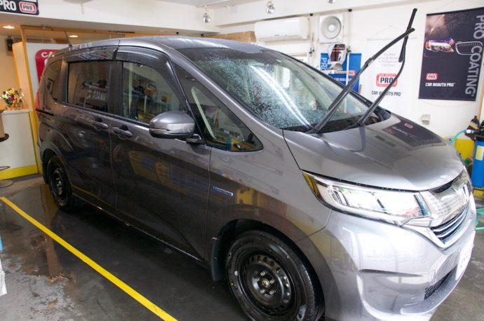 HONDA フリード 新車SPGコート低撥水+ウィンドガラスコーティング