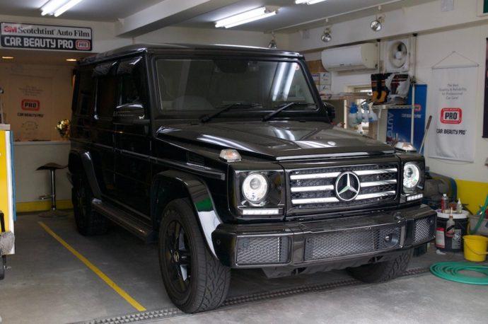 Mercedes Benz G350d PCX-V110欲張りプラン施工