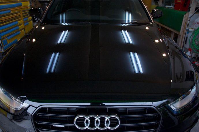 """AUDI A4 磨き!ガラスコーティング""""PRO-MAX V300""""施工"""