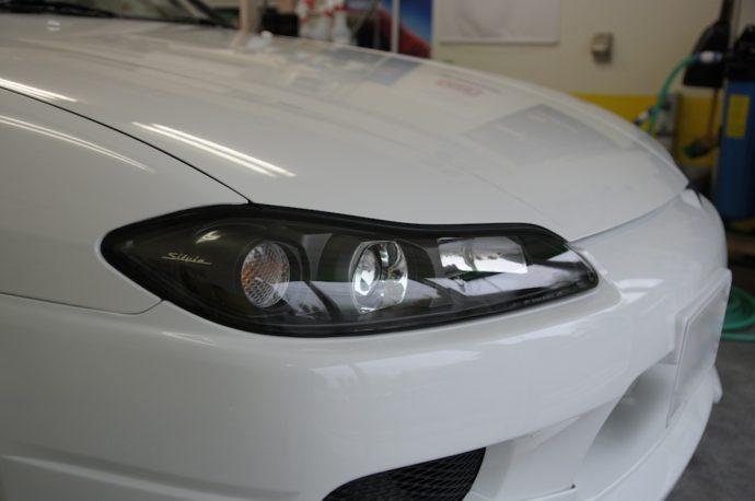 日産シルビア(S15) ガラスコーティングEXE