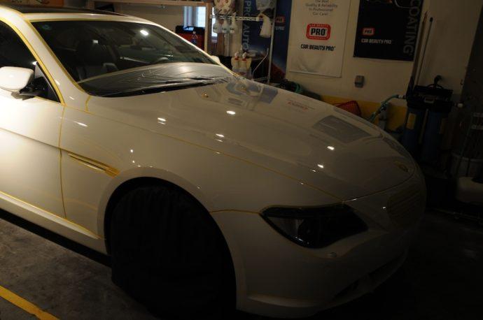 BMW 650i リフレッシュ計画(その2)