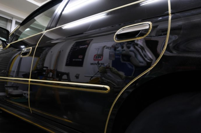 ホンダオデッセイ 経年車ガラスコーティング