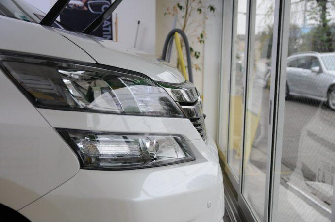 トヨタ ヴェルファイア 新車コーティング