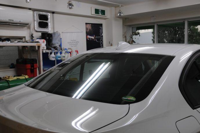 BMW 320d(F30) クリスタリン施工