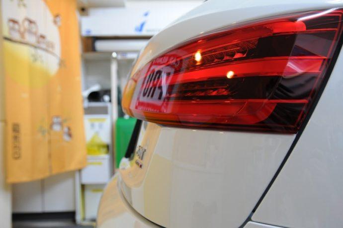 アウディQ3 新車コーティング&フィルム施工