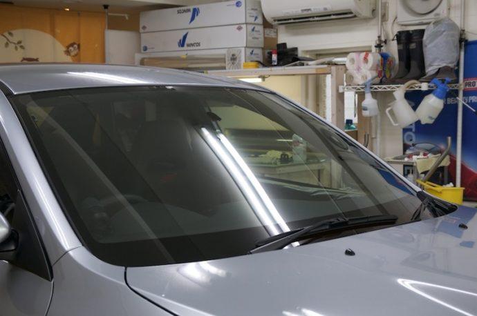 スバルWRX STi フロント3面IR-90HD施工