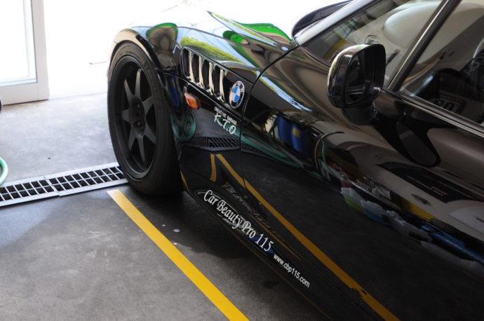 BMW Z3 勝手にイベント施工