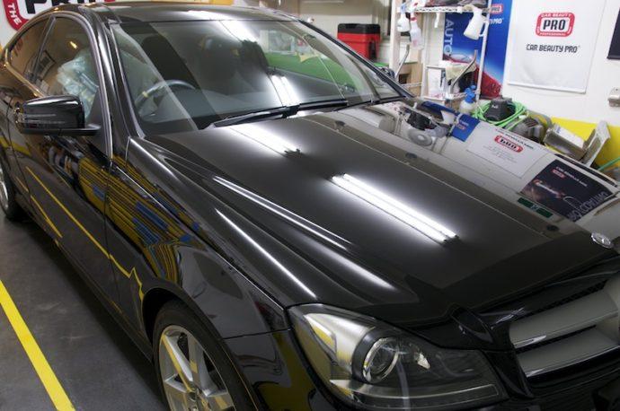 メルセデスベンツC180クーペ 新車PCX-S7