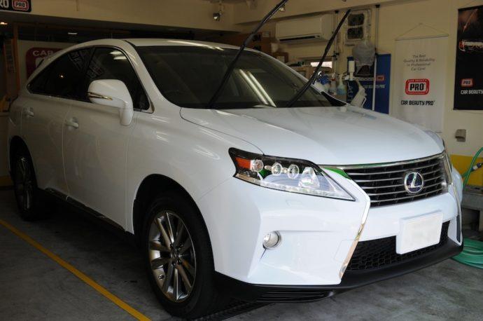 レクサスRX430h 新車ガラスコーティング